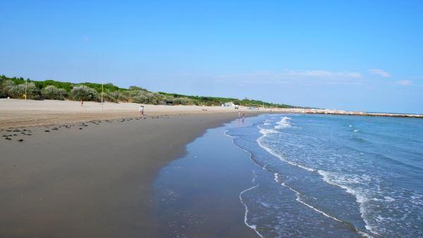 spiaggia di Eraclea Mare in Veneto